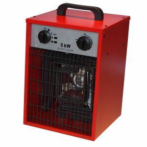 5kw Portable Industrial Fan Heater