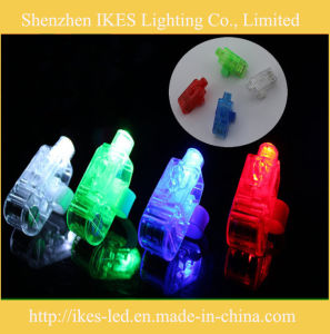 Rubber Ring를 가진 도매 Party Supply LED Finger Lights