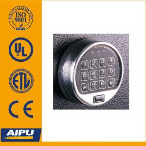 Verrouillage électronique rond avec clé d'urgence USB Ap81117USB-1