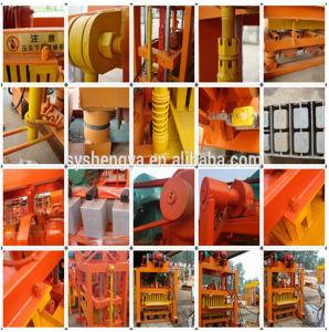 Qtj4-40中国の連結のペーバーのコンクリートブロック機械