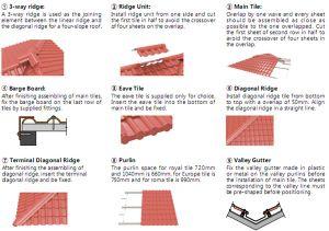 Accessori adeguati delle mattonelle di tetto dell'impianto
