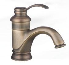 旧式な青銅色の単一のレバーの洗面器のコック(LX-2306AF)