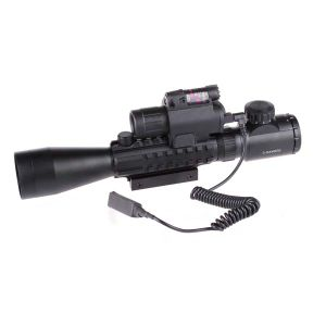 3-9X40eg. Het rode Groene Flitslicht van het Gezicht van de Laser van het Gezicht van Riflescope van de PUNT Rode