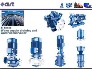 Dfewr horizontal de agua caliente de alta eficiencia de la bomba de aspiración de la final con el acoplamiento para el cierre de las aguas residuales