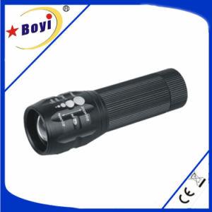 Strong Power LED、Waterproof、Military Standardの小型Flashlight