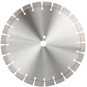 レーザー橋のためのダイヤモンド円のBlade&Discは切断の花こう岩及び大理石-石造りのSlab&Blockの切削工具見た
