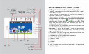 Drahtloses verdrahtetes G-/MWarnungssystem für inländisches Wertpapier (ES-X6)