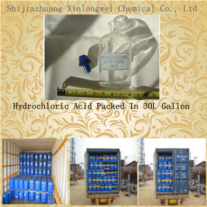 Hydrochloric Zuur 32% van de Levering van de fabriek