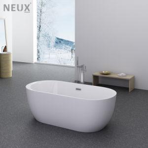 El diseño contemporáneo chino barato remojo bañera independiente (LT-703)