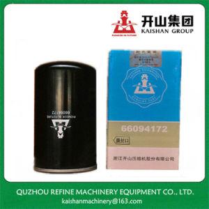 Filtro de Óleo para Kaishan 66094172 15kw partes separadas do Compressor