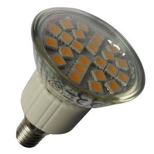 3.1-3.3W Cristal foco LED Bombilla LED E14 (JDR-001).