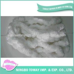Eco-Friendly Lado Tricô Lã de têxteis de algodão fios fantasia