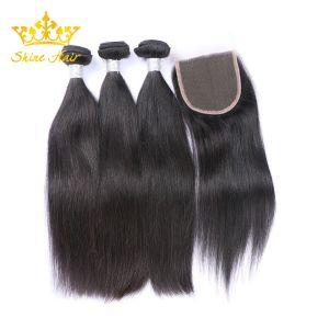 Commerce de gros de 100 % de l'homme Braizlian Remy Hair naturels dans les cheveux noirs