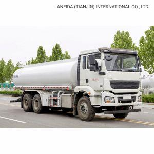 3 essieux camion-citerne à carburant