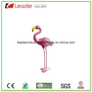 Het hete Beeldje van de Tuin van de Flamingo van het Metaal van de Verkoop Openlucht en de Decoratie van het Gazon