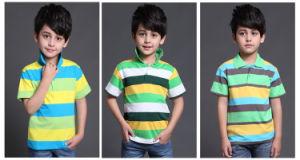 2017 Moda 100% algodão desportivo desportivo Polo Polo T-Shirt