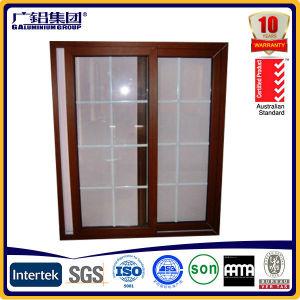 Подъем и раздвижная дверь большого размера алюминиевый с двойным стеклом и термально рамками алюминия пролома