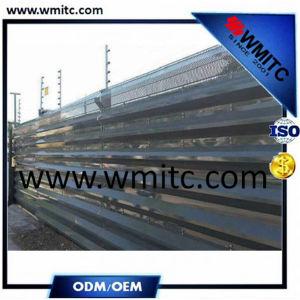 Sf-Sy167 cercas de acero comercial para el mercado externo y el proyecto de ultramar
