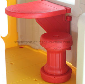Terrain de jeux intérieur Cheap Kids Play House de moulage par soufflage des diapositives pour Amusement Park