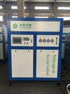 Máquina de inyección para la generación de nitrógeno