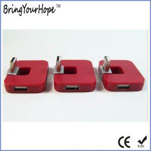 Mini Square 4-port concentrateur USB (XH-Moyeu-004)