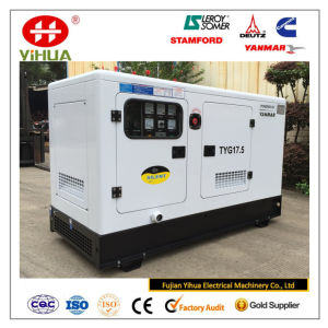 gerador 16kw/20kVA Diesel silencioso Soundproof com EPA Yanmar e Stamford