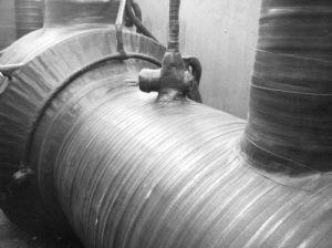 地下ダクトテープを、ポリエチレンのButylテープ包む、さび止めのPEの管の覆いテープ粘弾性があるボディ管の覆いの付着力のPEテープ