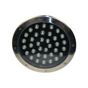 30cm Durchmesser Wasserdicht IP67 Runde LED U-Licht 36W RGB-weiße Farbe
