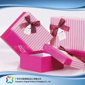 Envases de Papel Regalo de lujo/Chocolate/Cosmética caja con cinta de opciones (XC-hbg-011A)