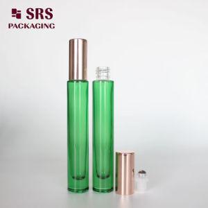 SRS che impacca la bottiglia di vetro del rullo del profumo di Fragranc della parete spessa di lusso libera di colore 10ml con la sfera di metallo