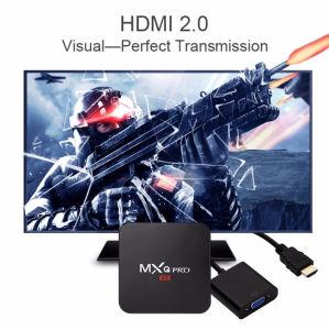 Mxq intelligenter Android 6.0 Fernsehapparat-Kasten Amlogic S905X Vierradantriebwagen-Prokern Google gesetztes Spitzenkasten völlig einprogrammiert DHL-Verschiffen