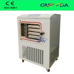El rendimiento de alto costo de secador de congelación de las frutas, flores, hierbas, mariscos, carnes