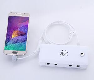 El sensor de seguridad para los auriculares mostrar