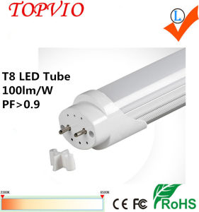 El tubo LED de 3 años de garantía de la luz del tubo LED T8 18W 1200mm tubo LED T8