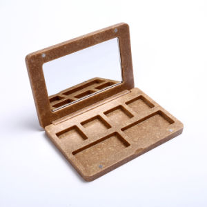 Material ecológica vacío cuadro Paleta de sombra de ojos maquillaje
