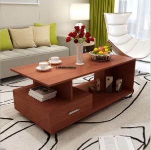 Sala de painéis de partículas de melamina mobiliário mesa de café a tabela de chá