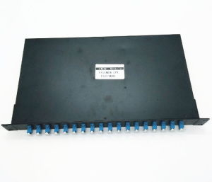 1uラックマウントの単一のファイバー16チャネルMux Demux CWDM
