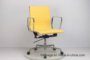 Modernos Muebles de oficina ergonómica de cuero tejido Ejecutivo giratorio reunión Grupo de Eames Silla de oficina