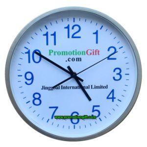 Promotion de 30cm 12 pouces en plastique Horloge murale décorative Quartz silencieux