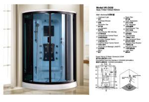 Atractivo diseño sala de vapor, ducha (D539)