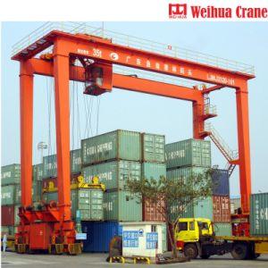 Top1 Crane fabricant en Chine Weihua Rtg grue à portique de conteneur à bandage en caoutchouc