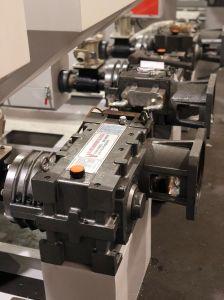 대만 고속 PP PE ABA 50/55/65 필름 부는 기계 Exdruder