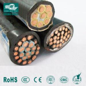 Condutores de cobre com isolamento de PVC com bainha interna de PVC cobre Cabo Controle blindado /Zr-Kvvrp Cabo de Controle