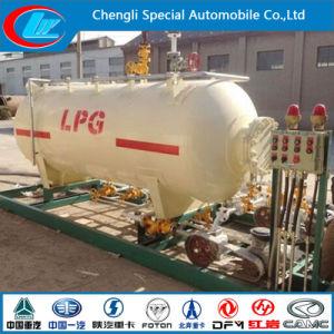 Estação de deslizamento de GPL 5t 10000 litros Venda na Nigéria Gana