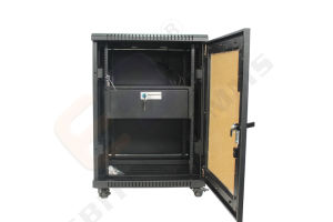 Передний Дымный плексигласа нам двери стандартного серверного корпуса для монтажа в стойку