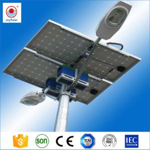 IP65 10m 폴란드 80W 폴란드/LED 가벼운 세륨 Soncap 증명서를 가진 태양 가로등