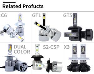 D4s LED車によって隠されるHeadligthおよび自動LEDのヘッドライトC6とのヘッドライト変換