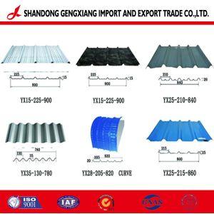 La Chine Fabricant tôle de toit ondulé à bas prix