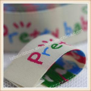 Etiqueta tejida de Jacquard de alta calidad