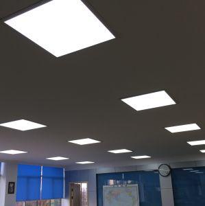 LED Empotrables Troffer 2x2 pies (600x600mm) de la luz del panel con retroiluminación de la FCC UL DLC (Premium) de 40W 4000K blanco de la naturaleza 125lm/W
